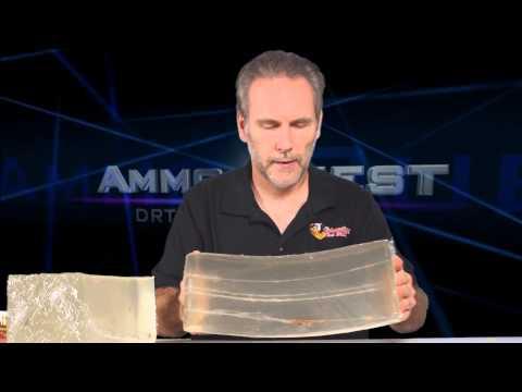 DRT 380 Auto Frangible Ammo Ballistics Gel Test