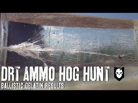 DRT Ammo Ballistics Gel Test