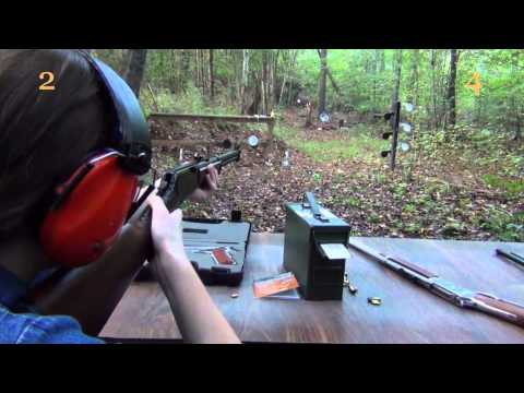 Family Shooting Range Duel