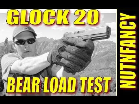 Glock 20 Buffalo Bore 200gr FMJ Ammo Test