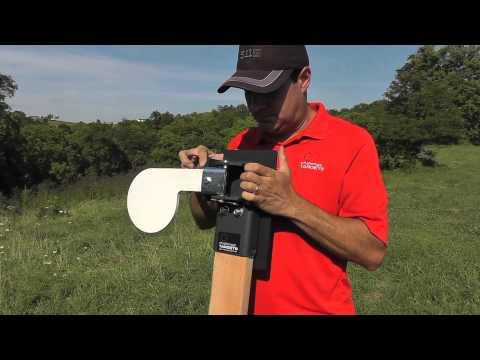 Handgun Paddle Target Shooting Demo