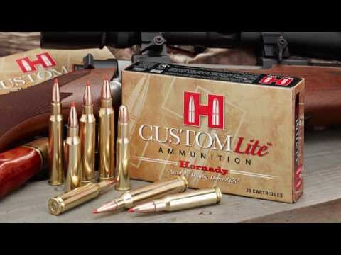 Hornady Custom Lite Ammunition