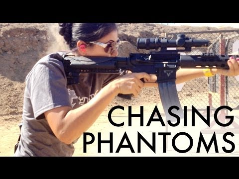 Jessica Hook Shooting the Taran Tactical AR15