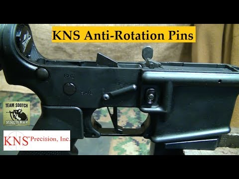 KNS Precision AR-15 Trigger Group Pins