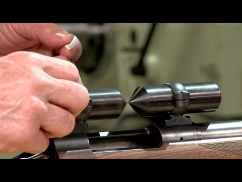 Lapping Scope Rings on a Rifle