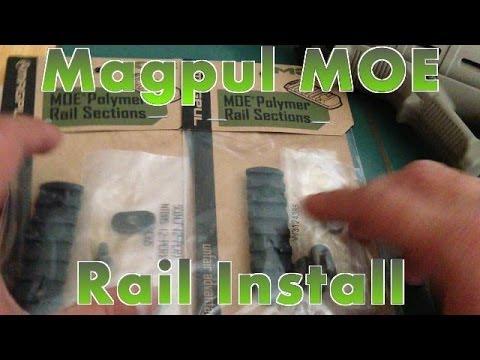 Magpul MOE Rail Installation