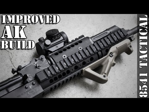 Midwest Industries AK47/74 Extended Handguard
