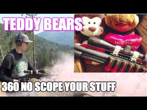 Mossberg Shotgun vs Teddy Bears