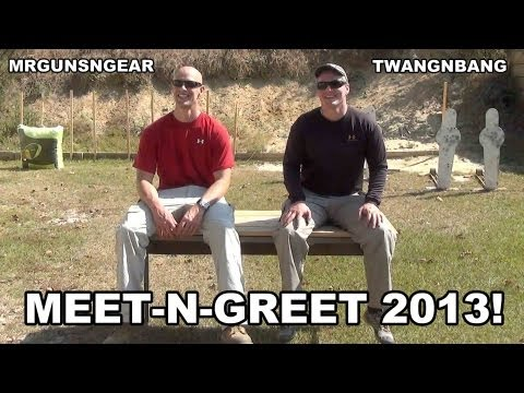 Mrgunsngear and TWANGnBANG Meet-n-Greet 2013