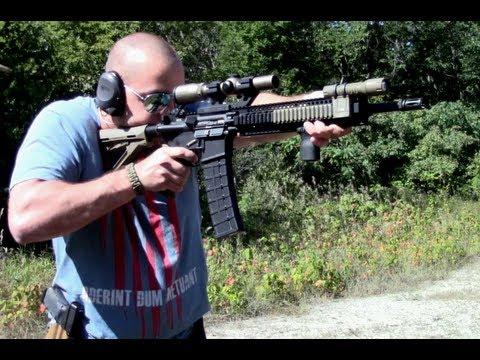 MWG IK-520 40rd AR15 Magazine Function Test
