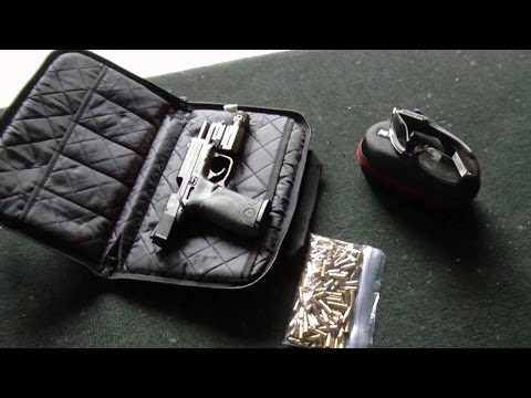 POV Shooting S&W M&P22 - Pivothead Video Sunglasses