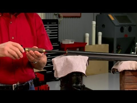 Removing a Dent from a Shotgun Barrel