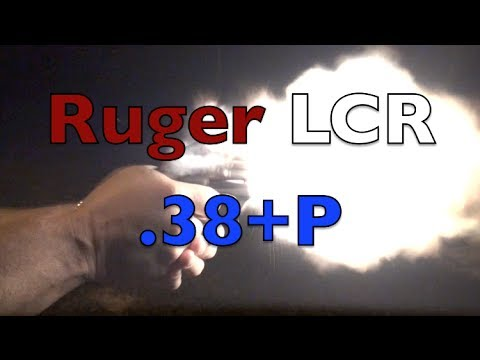 Ruger LCR Revolver Shooting
