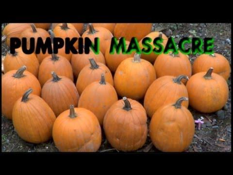 Saiga 12 Pumpkin Massacre