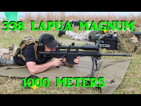 Savage 110 and Barrett M98B at 1000 Meters