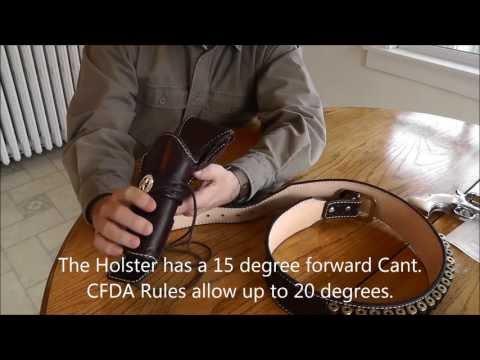 Skincarvers Gunfighter Rig - Cowboy Fast Draw
