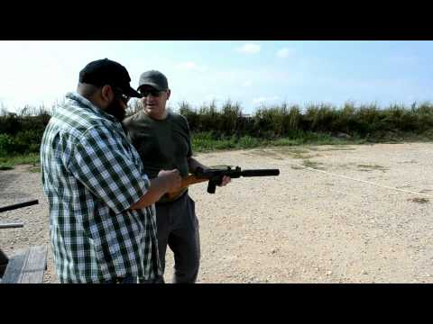 Uzi with the Liberty UZI LS Suppressor