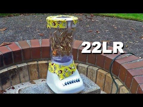 22LR Ammo in a Blender