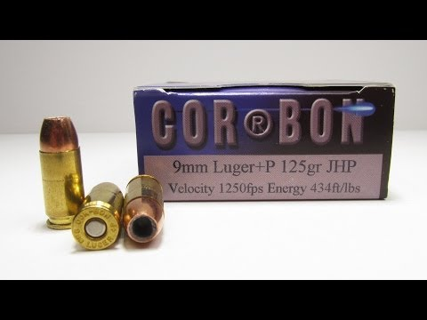Ammo Test - Corbon 9mm +P 125 Grain JHP