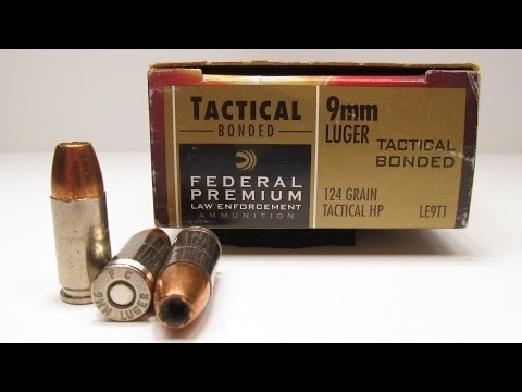 Ammo Test - Federal Premium 9mm Tactical Bonded