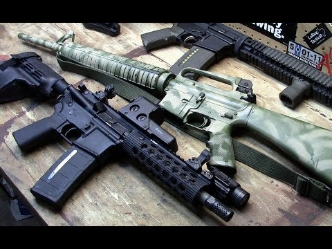 AR-15 Accessories – Muzzle Devices – Handguards – Rails - Optics