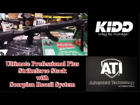 ATI Ultimate Professional Plus Strikeforce Stock with Scorpion Recoil System
