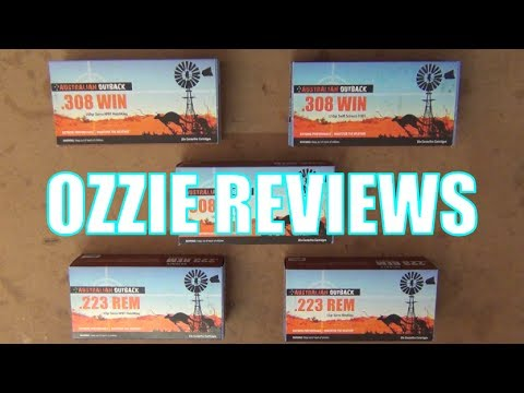 Australian Outback Ammunition Review