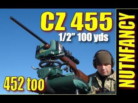 CZ 452 American Rifle - CZ 455