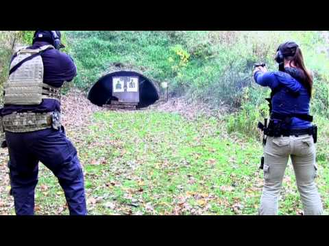Destinee Training with Nelson Tactical