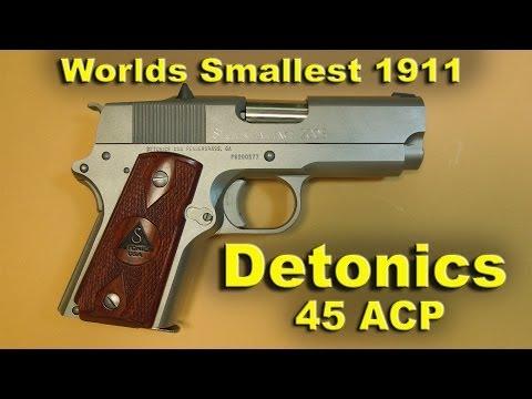 Detonics Combat Master 1911 Subcompact