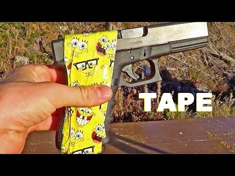Duct Tape Glock 20