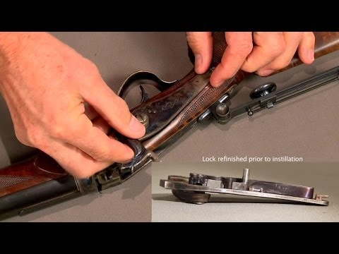 How to Repair the Tumbler and Sear on an Axtell 1877 Sharps Rifle