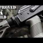 Improved AK Build - Rifle Dynamics M4 Stock Adapter, Magpul MOE Buttstock, Magpul AFG2