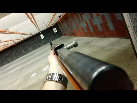Norinco SKS - POV Shooting