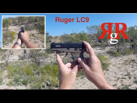 Ruger LC9 On the Range Review