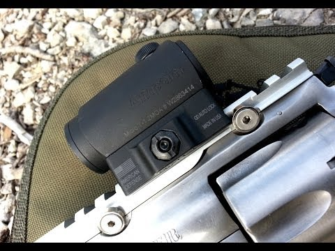 Ruger Super Redhawk with Aimpoint T1 on American Defense MFG Mount