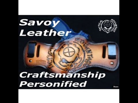 Savoy Leather Holster