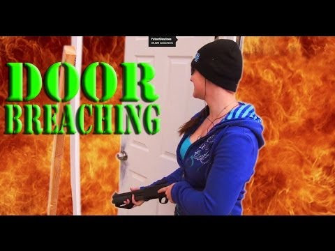 Shotgun Door Breaching