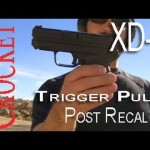 Springfield XDS Trigger Pull Post Recall