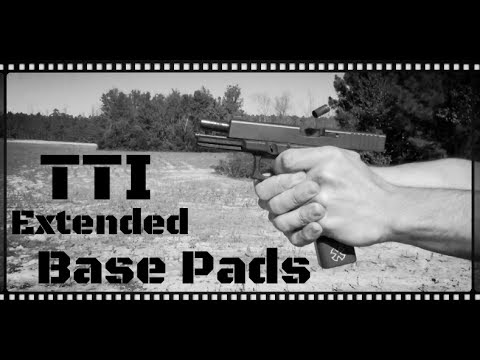 Taran Tactical Innovations Glock Extended Base Pads