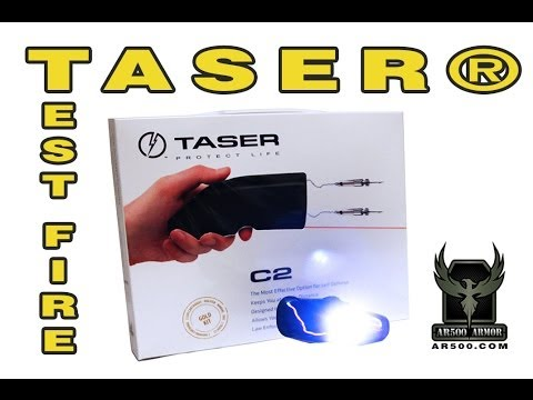 Taser C2 Overview and Test Fire