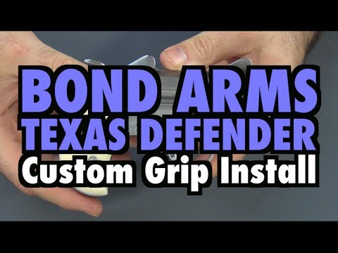 Tillander Grips Install on Bond Arms Texas Defender