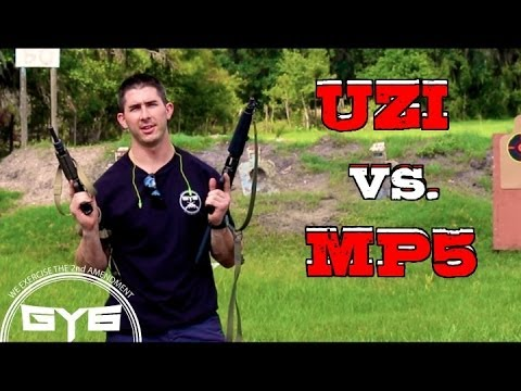 UZI vs MP5