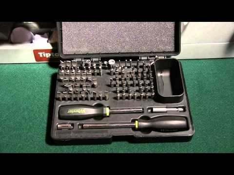 Wheeler Engineering Deluxe Gunsmith Screwdriver Set
