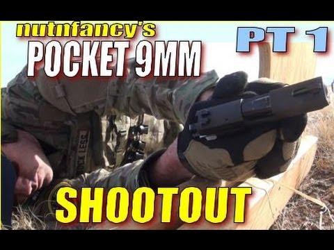 9mm Pocket Pistol Shootout - Part 1