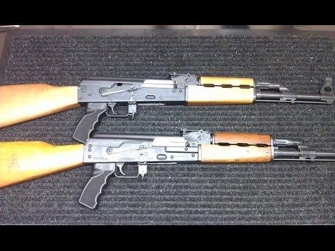 AK Variant Comparison – Zastava O-PAP vs N-PAP