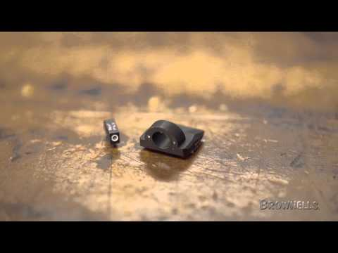 Ameriglo Tritium Night Sight Set for Glock Pistols