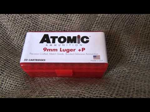 Atomic Ammunition – 9mm +P
