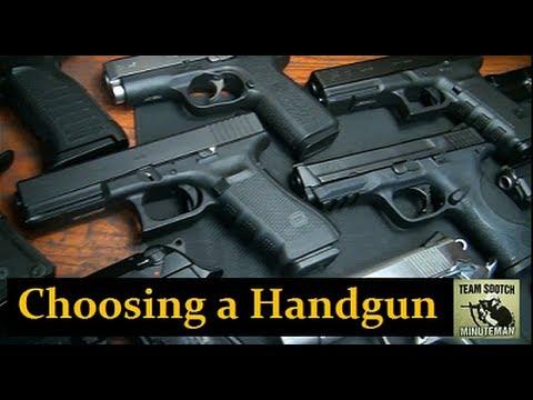 Choosing a Handgun