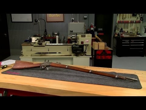 Cleaning a Remington Rolling Block New York State Model